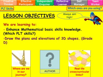 Plans and elevations lesson