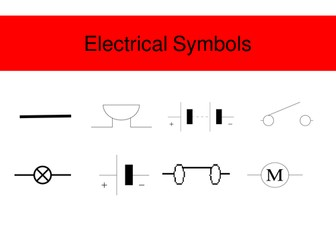 Electric circuit symbols by jimbob37 teaching resources tes electric circuit symbols ccuart Image collections