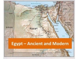 Egypt Ancient And Modern By Cathyve Teaching Resources Tes