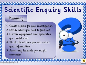 Scientific Enquiry Poster Set