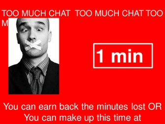 Too much chat! Time Wasted...