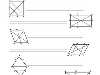 KS2 Diagonals
