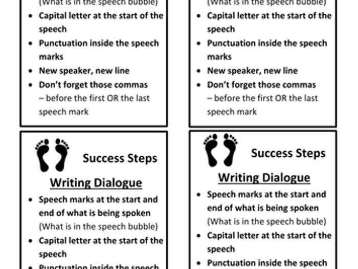 Writing dialogue ks2