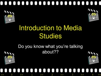 Introduction to Media Studies Part 1