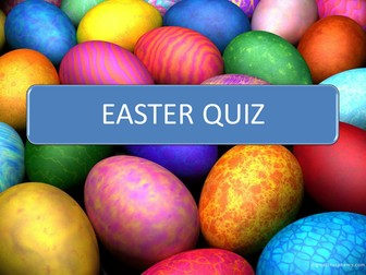 EGG-CENTRIC EASTER QUIZ