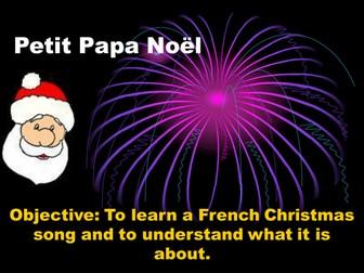 Petit Papa Noel - song