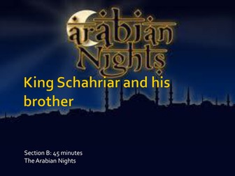 King Schahriar & His Brother [Edexcel Extract]
