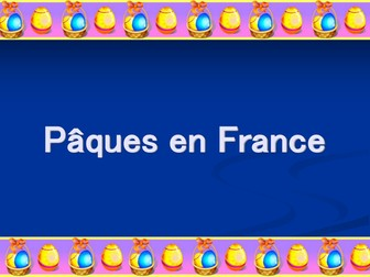 Carnival/Easter in France