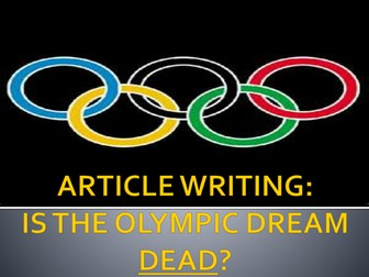 The Olympic Dream - Dead or Alive?