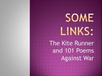 The Kite Runner & 101 Poems Against War (Update)
