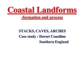 Coastal Landforms- formation and process