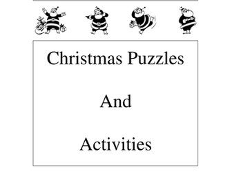 Maths Christmas Activities Booklet
