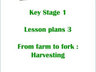 The Great Food Journey: KS1 Harvesting