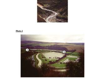 River Landform worksheet