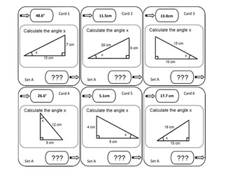 Trigonometry Loop Cards