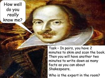 Shakespeare: Macbeth Resources: Scheme of Work