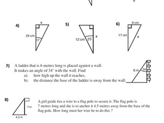 Pythagoras and Trigonometry Test