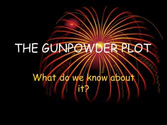 The Gunpowder Plot ppt