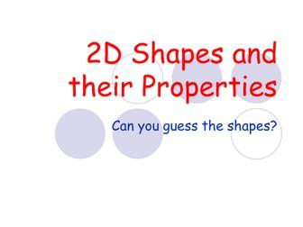 2D Shape ppt