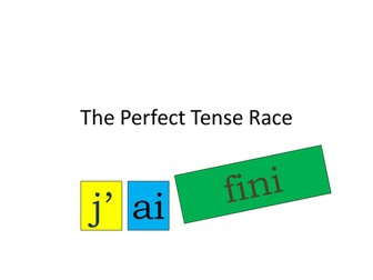 The Perfect Tense Card Race
