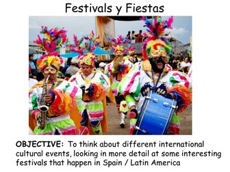 Festivals (Spanish)