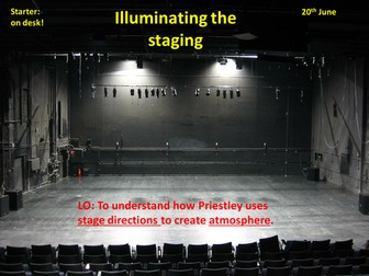 An Inspector Calls: Staging a Production