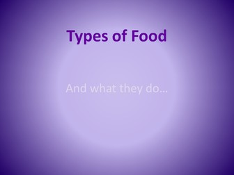 Healthy Eating Food Groups Powerpoint