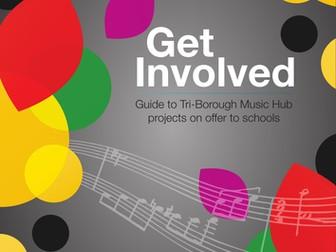 Get Involved - Tri-Borough Music Hub projects