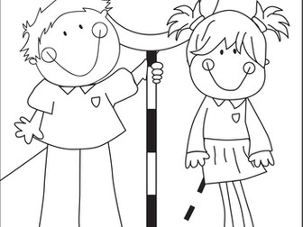 Road Safety Week Colouring Poster