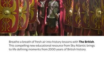 Sky Atlantic's The British: Roman Invasion