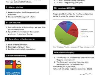 Teaching & Learning Newsletter Template by @TeacherToolkit