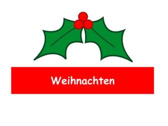 German Christmas songs - Weihnachtslieder