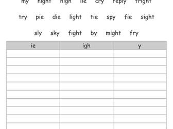 Easy Verb Worksheets Excel Search Tes Resources Grade 1 Social Studies Worksheets Word with Biology If8765 Worksheet Answers Word Ie Igh Or Y Practice Multiplication Worksheets Word
