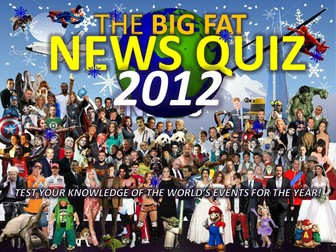 The Big Fat News Quiz Of The Year 2012