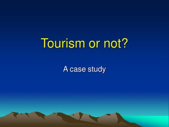 Tourism or Not