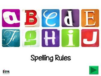 Spelling Rules Presentation