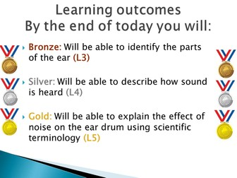 How we hear sound by marklindencole teaching resources tes ccuart Choice Image