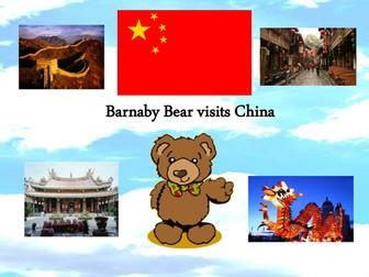 Barnaby Bear visits China