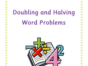 Doubling and Halving Word Problem Booklet