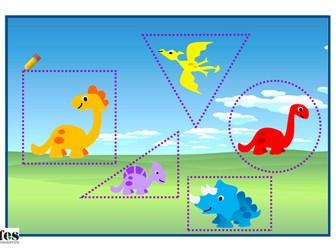 Dinosaur Themed Pencil Skills Activities