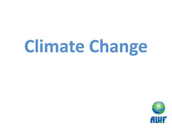 Climate change and global warming