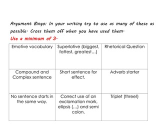 Writing to Argue intro