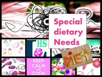 GCSE WJEC Special Dietary Needs