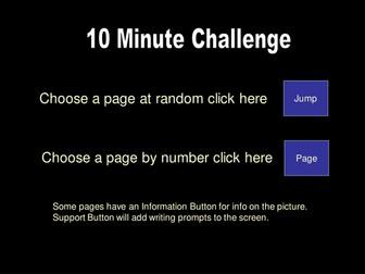 Creative Writing 10 Minute Challenge