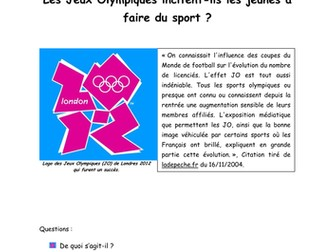 The effect of the Olympic Games on sport