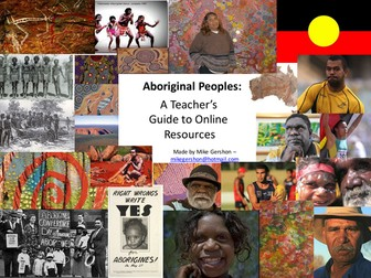 Aboriginal Peoples: Teacher Resource Guide
