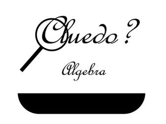 Algebra Cluedo