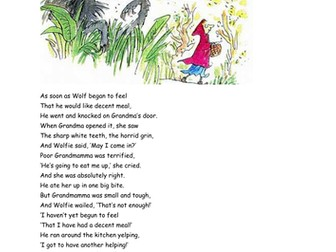 Twisted Fairytales - Roald Dahl
