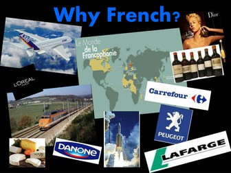 Why study French ? - A Power Point