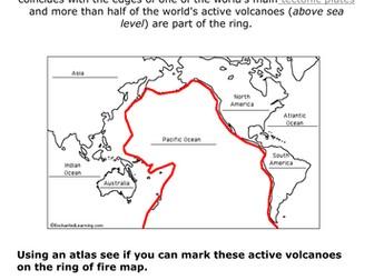 Volcanoes Full Scheme of Work
